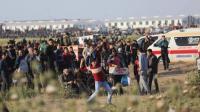 42 إصابة في جمعة الأسير بغزة