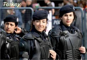 رفع الحظر عن الحجاب في صفوف الجيش التركي