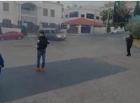 ضبط سائق قام بالتفحيط واحالته للقضاء (فيديو)
