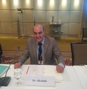 اختيار الدكتور أحمد الكوفحي لاعداد دليل لأدوية النباتات الطبية