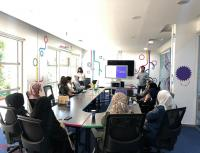 منصّة زين للإبداع تعقد ورشة تدريبية للنساء حول الاستخدام الآمن للأجهزة الذكية