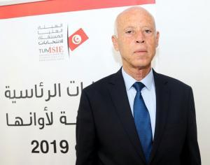 قيس سعيد رئيسا لتونس