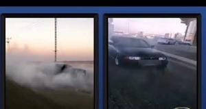 ضبط سائقين اثنين قاما بالتشحيط في اربد والزرقاء (فيديو)