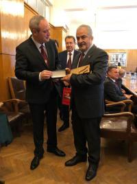 """تكريم """"عمان الاهلية"""" في حفل جامعة صوفيا بمرور 130 عاما على تأسيسها"""