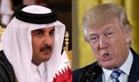 """رفض """"ترامب"""" استقبال أمير قطر شرف لنا"""