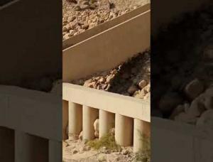 الأشغال: لا انهيارات بمنطقة الموجب والمياه تتدفق بشكل اعتيادي (فيديو)