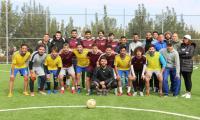 """""""الشرق الأوسط"""" تلتقي وديا فريق طلبة جامعة البترا لكرة القدم"""