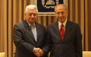 عباس: وفاة بيريز خسارة للانسانية والسلام!