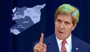 كيري يهدد بتعليق اي تعاون حول سوريا