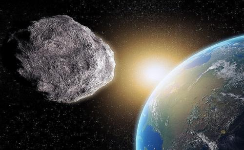 كويكب ضخم يمر بالقرب من الأرض