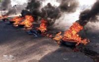 ذيبان: شغب وحرق اطارات عقب مقتل مطلوب