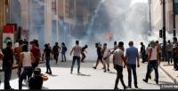 مقتل رجل امن باشتباكات مع المتظاهرين وسط بيروت