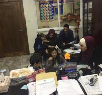 """طلبة من """"عمان الأهلية"""" يجرون فحوصات الذكاء لتلاميذ مدارس الجامعة"""