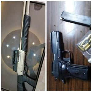 ضبط 65 قطعة سلاح