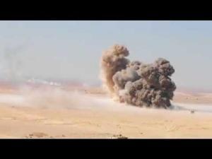 تمرين عسكري أردني أمريكي (فيديو)