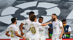 مهاجم ريال مدريد يعلن اصابته بكورونا