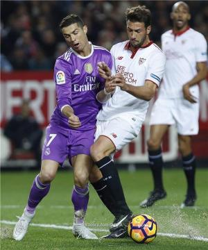 ريال مدريد يسقط في اشبيلية