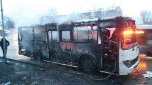 كازاخستان: مصرع 52 شخصا باحتراق حافلة