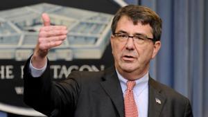 كارتر: سنهاجم داعش من جنوب سوريا حماية للأردن