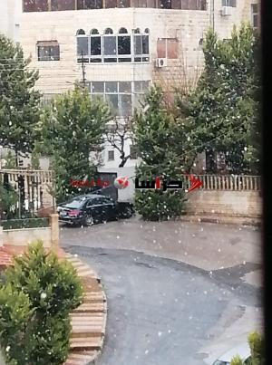 تساقط للثلوج في عمان (فيديو)