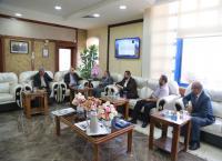 وفد من نقابة المهندسين الزراعيين يزور جامعة الزرقاء