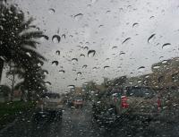 بالفيديو ..  برَد وامطار غزيرة تتساقط على محافظات الجنوب