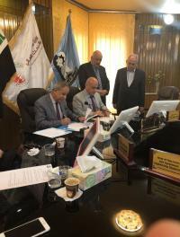 اتفاقية تعاون بين جامعتي الزرقاء والتكنولوجية العراقية