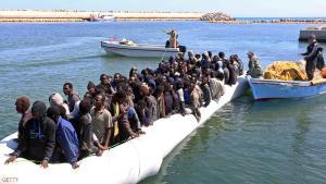 انقاذ 712 شخصا قبالة سواحل طرابلس الليبية