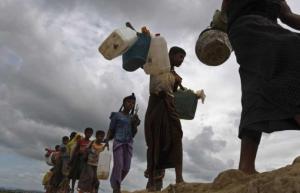 """""""رايتس ووتش"""": الأمن نفذ عمليات اغتصاب واسعة في ميانمار"""