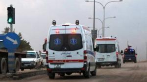 97 اصابة خلال 164 حادثا مختلفا