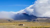 ثوران بركان قد يسبب كارثة عالمية