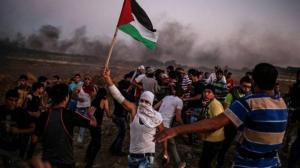 5 إصابات بقمع الاحتلال مسيرة العودة الـ 51