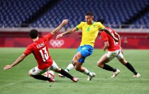 البرازيل تطيح بمصر من الأولمبياد