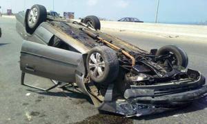وفاة شخصين وإصابة 6 بتدهور مركبة في شارع الأردن (صور)