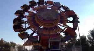 إصابة فتاة سقطت عن لعبة متنزه في الكرك