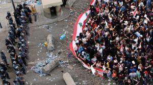بعد تطور الاحداث ..  الرئيس اللبناني يطالب الجيش بالتدخل