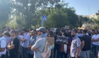 مسيرة ووقفة في القدس تضامنا مع حي الشيخ جراح