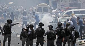 إصابة فلسطينيين خلال اقتحام الاحتلال قرية رمانة