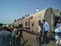 إصابة 97 شخصًا في حادث قطار طوخ بمصر