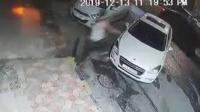 تحطيم مركبات في الصويفية (فيديو)