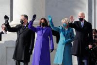 بايدن يدخل البيت الأبيض (فيديو)