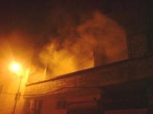 """5 اصابات بحريق منزل في """"المنارة"""""""
