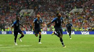 فرنسا بطلة كأس العالم 2018