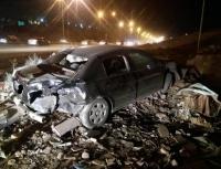 5 إصابات بحادث تصادم بعمان