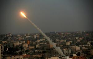 اطلاق صاروخ على عسقلان من غزة
