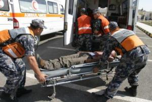 وفاة شخص واصابة 5 بتصادم مركبتين على طريق البحر الميت