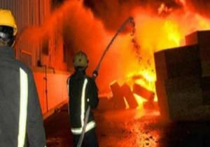 اندلاع حريق بمحل ألبسة في الوحدات
