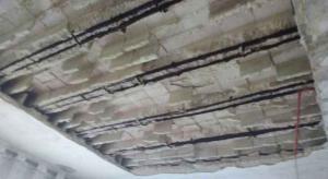 5 إصابات بانهيار سقف منزل في الهاشمي