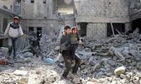 النظام السوري يواصل ارتكاب المجازر في الغوطة لليوم السادس