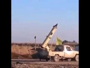 صاروخ يصيب السفارة الأمريكية في بغداد